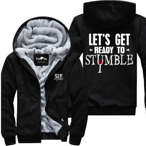 Let's Get Ready To Stumble - Wine Jacket