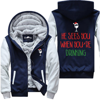 He Sees You When You Are Drinking - Jacket