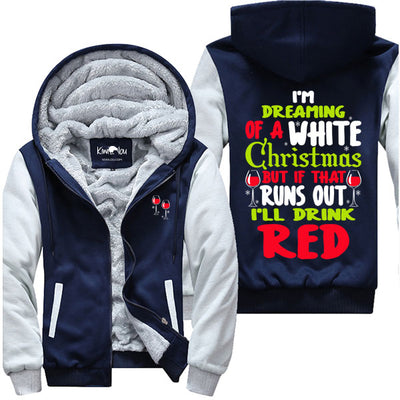 I Am Dreaming of A White Christmas - Wine Jacket