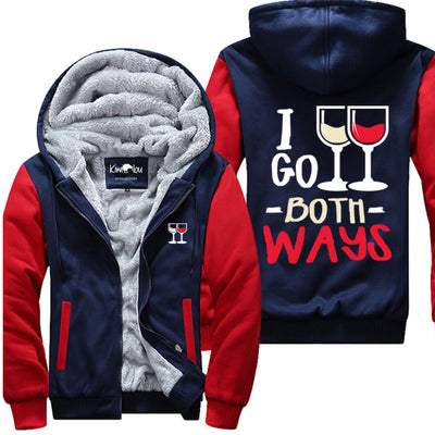 I Go Both Ways - Wine Jacket