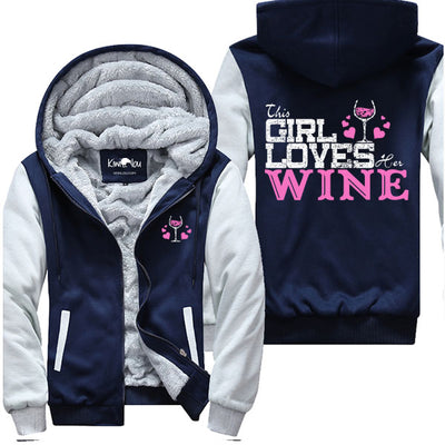Loves Her Wine - Jacket