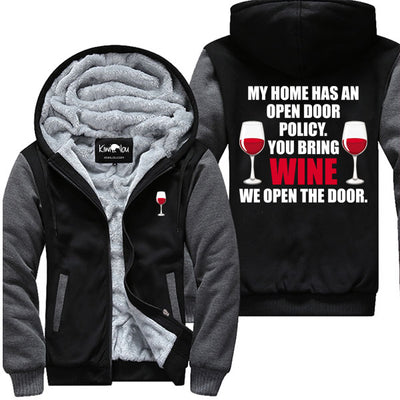 Open Door Policy - Wine Jacket