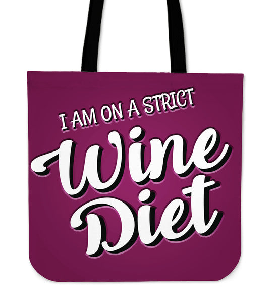 Wine Diet Tote Bag