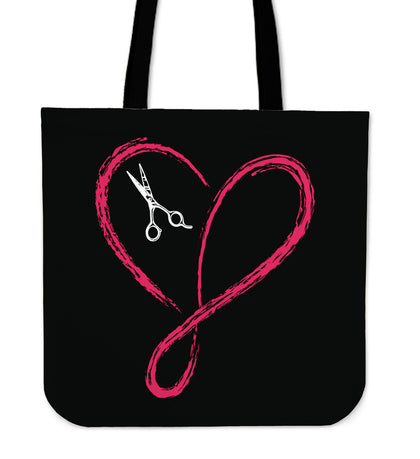 Love Infinity Hairstylist Tote Bag