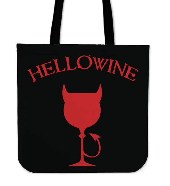 Hellowine Tote Bag