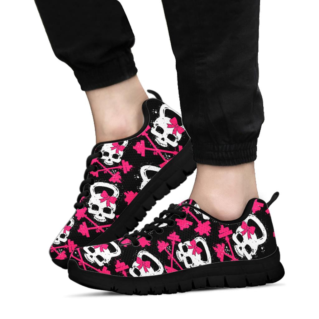 Gym Skull Sneakers Black Soles