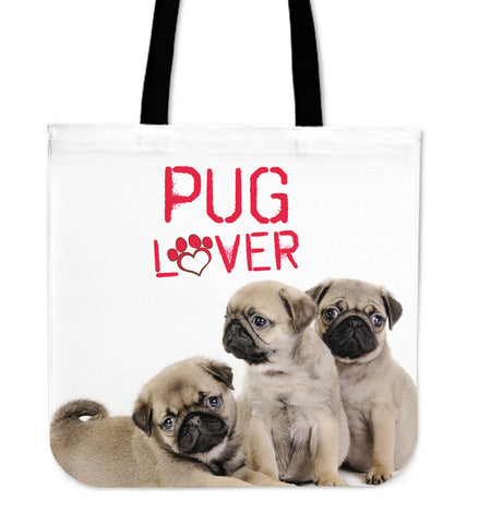 Pug Lover Tote Bag