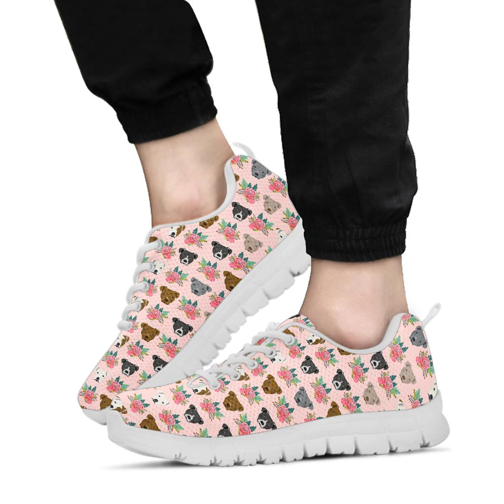 Pit Flowers Sneakers White Soles