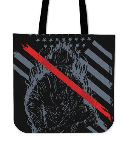 American Firefighter Tote Bag