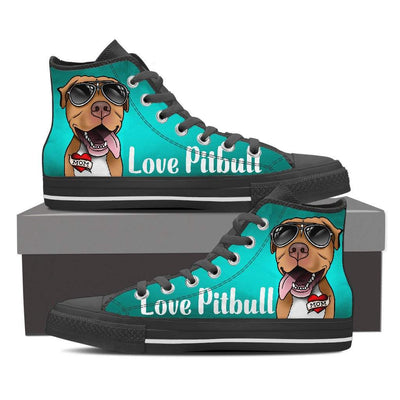 Best Selling Pitbull Women's High top