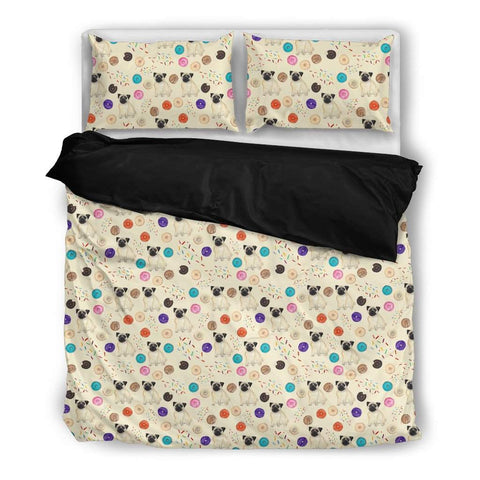Cute Pug Best Selling Bed Sheet