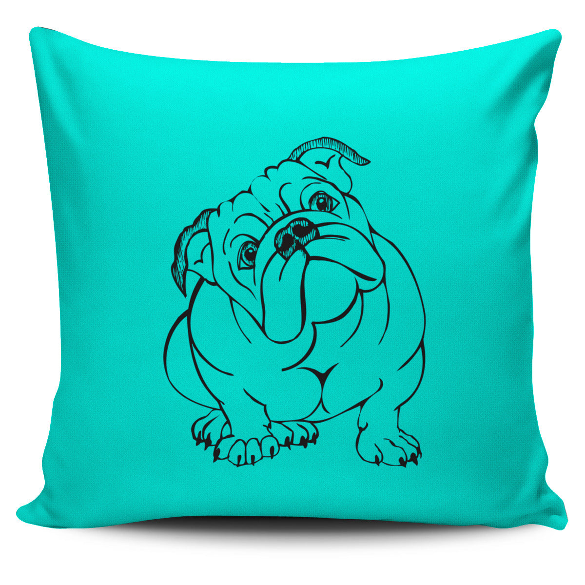 Bull with Attitude Pillow Cover