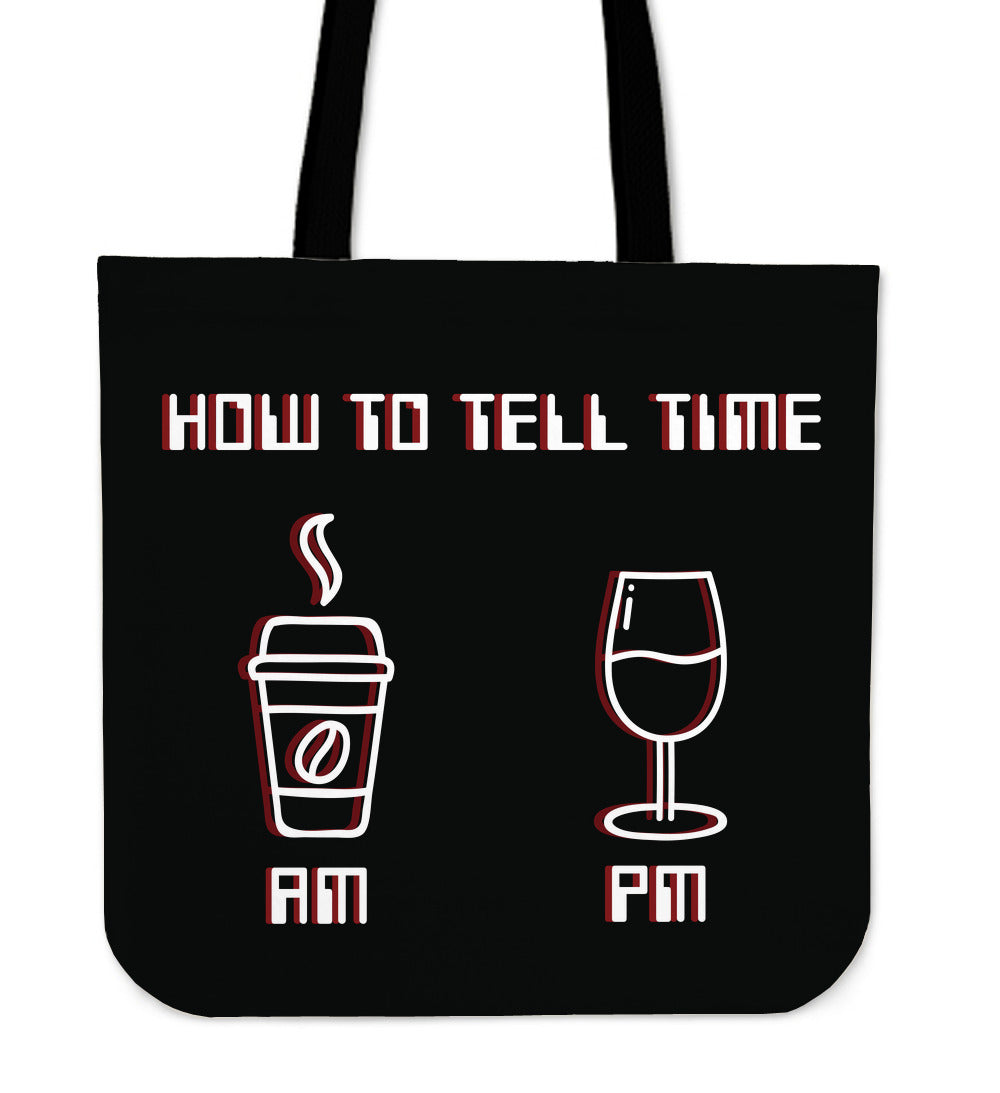 How To Tell Time Tote bag