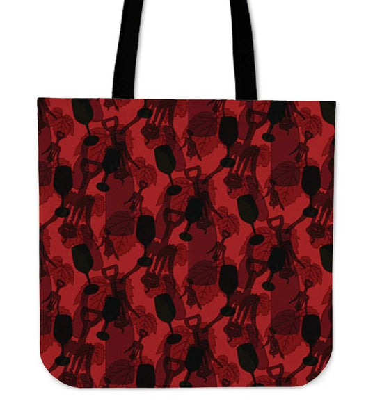 Cool Wine Tote Bag