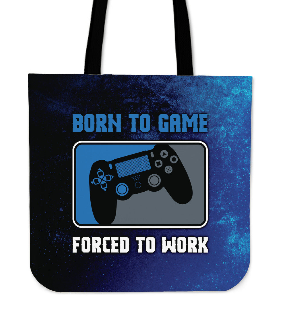 Born To Game Tote Bag