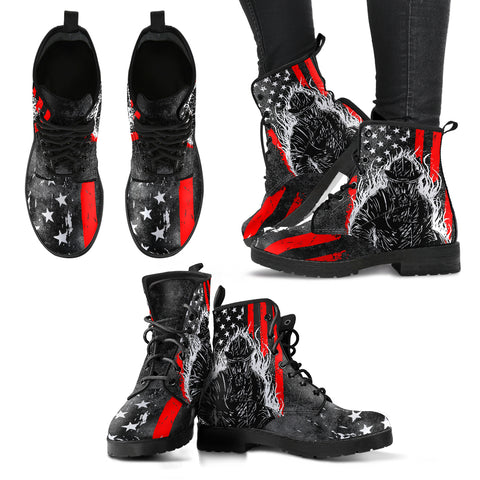 Firefighter Leather Boots