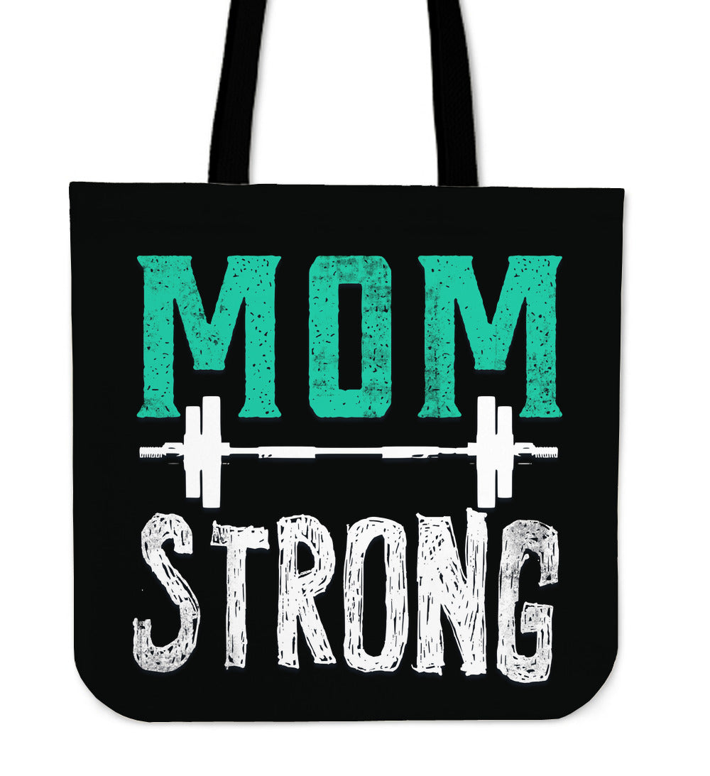 Mom Strong Tote Bag