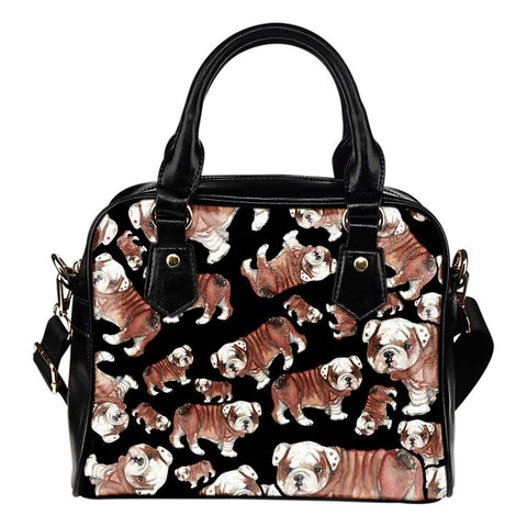 Cute Bulldog Shoulder Bag