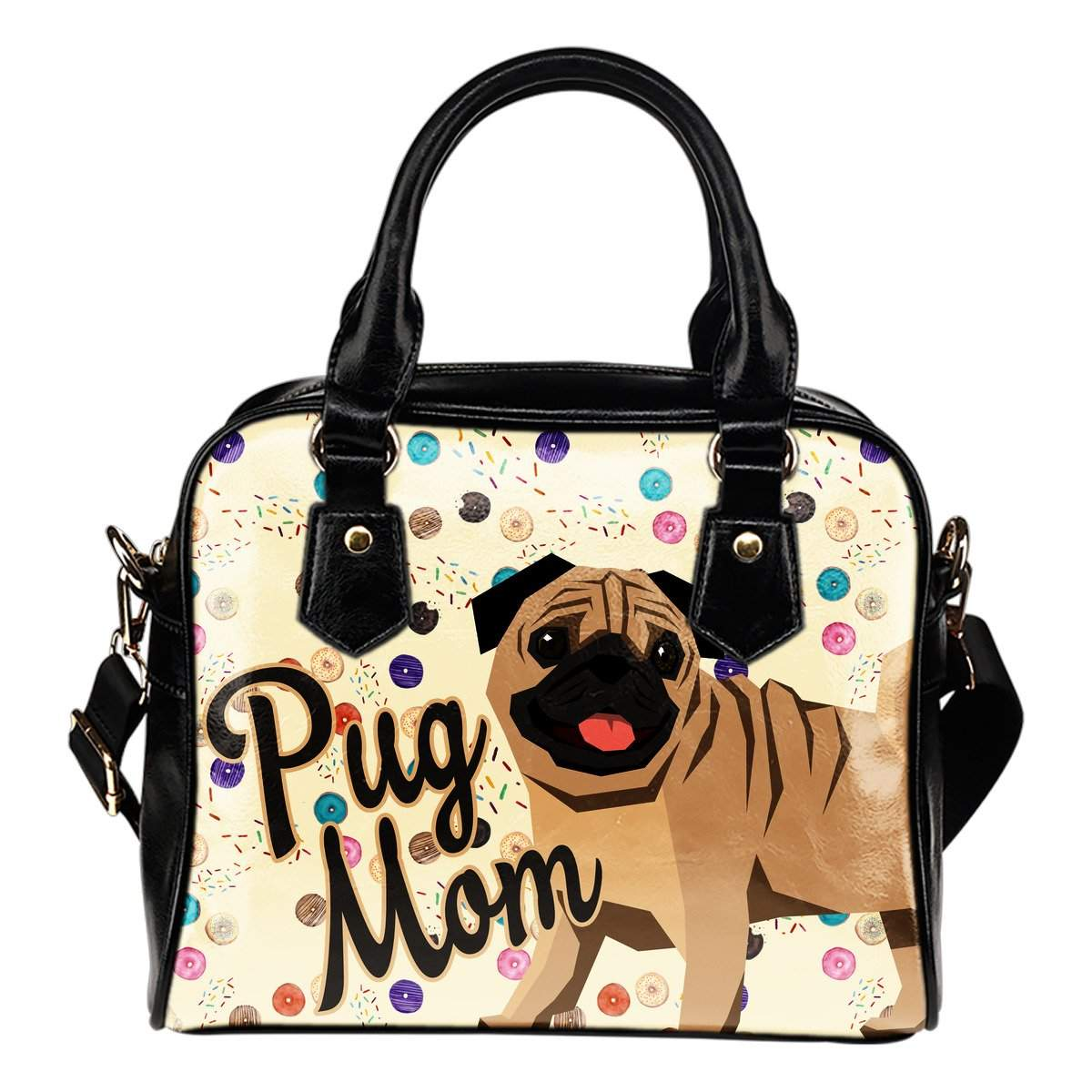Pug Mom Best Selling Shoulder Bag - pug bestseller