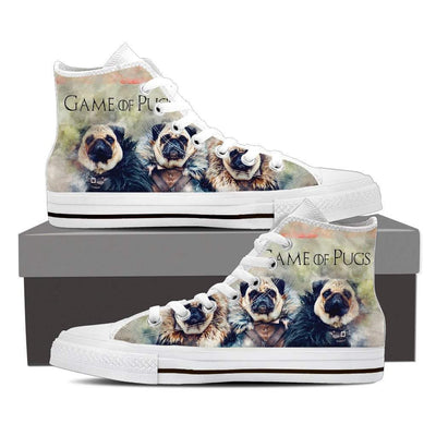 GOT Pugs Women's High top Shoes