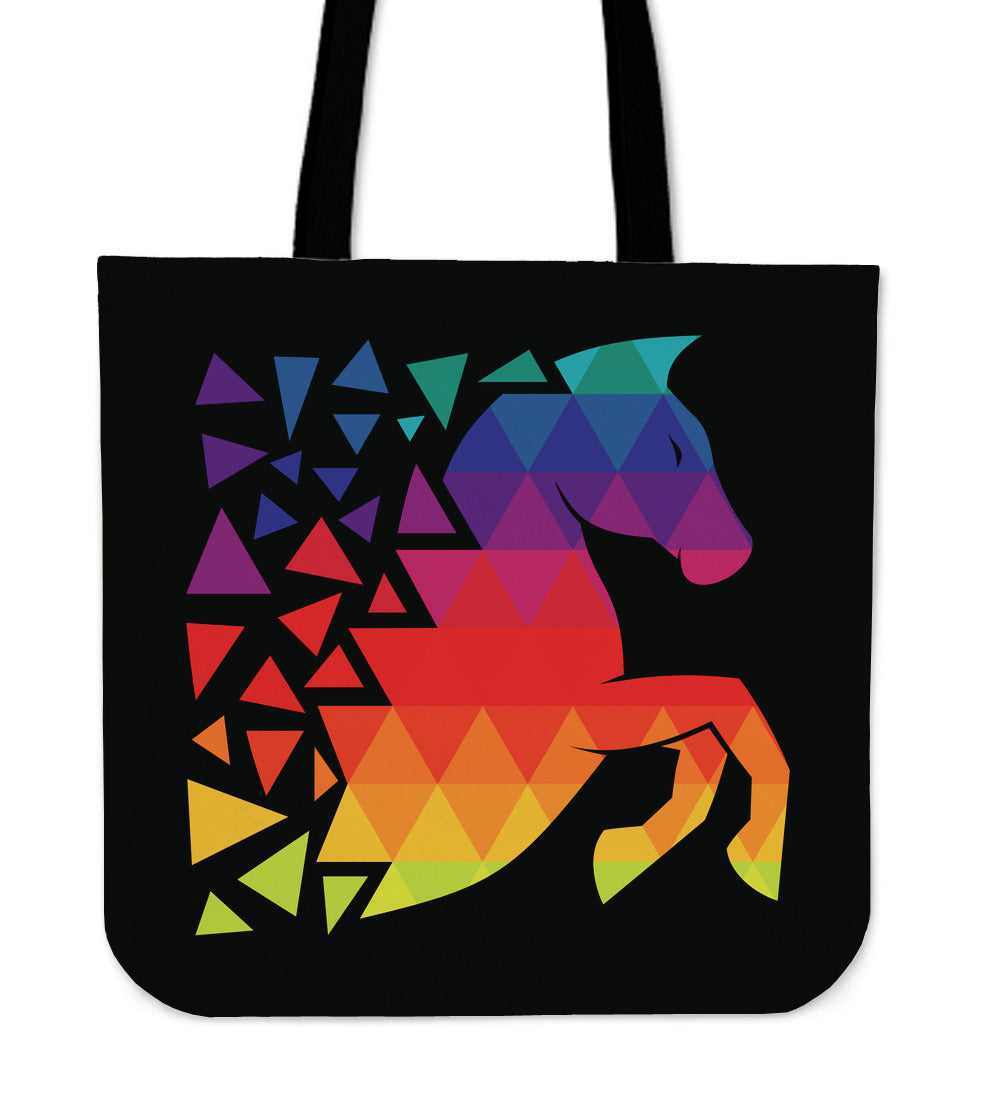 Leaping Horse Tote Bag