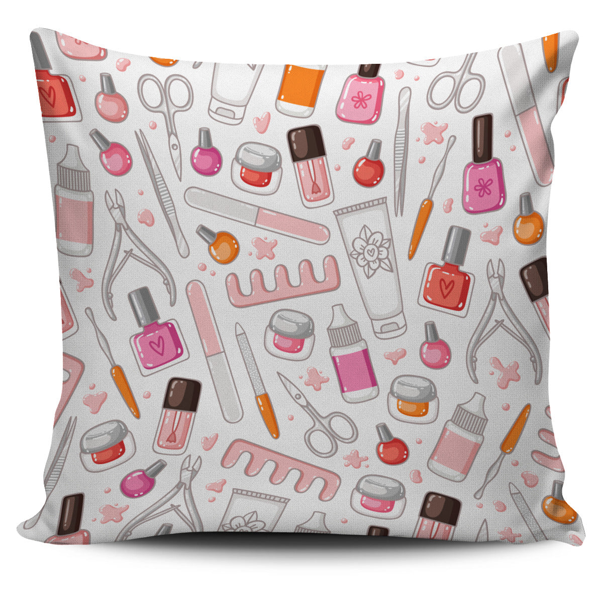 Nail Tools Pillow Cover