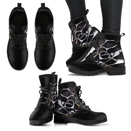 Hair Shears Women's Leather Boots