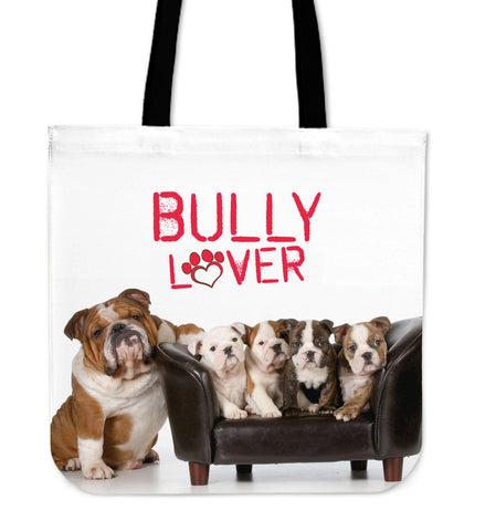 Bully Lover Tote Bag