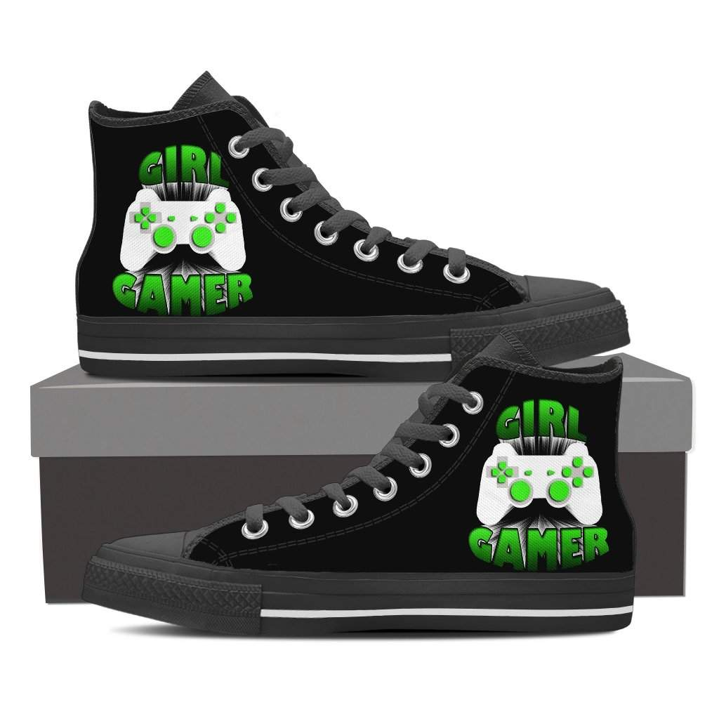 Girl Gamer Women's High Top Shoes
