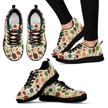 Wine Sneakers for Women