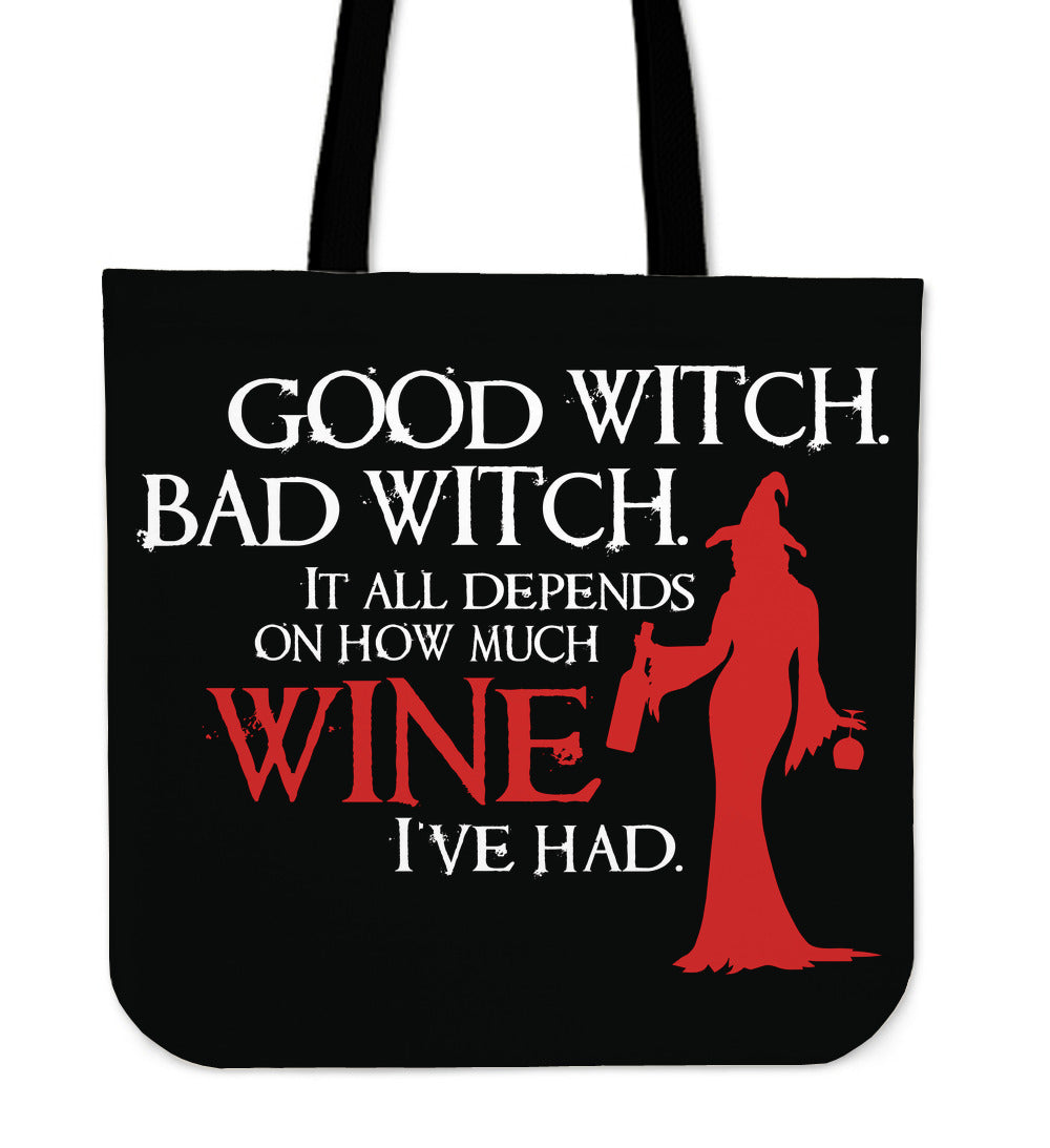 Good Witch Bad Witch Tote Bag