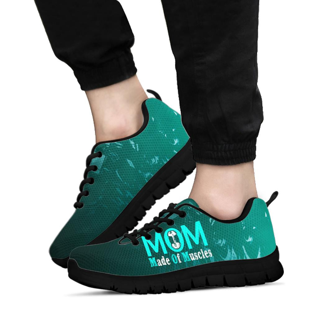 MOM Made of Muscle Sneakers Black Soles