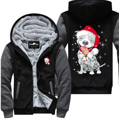 Christmas Pitbull - Jacket