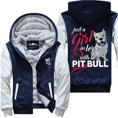 In Love With Her Pitbull - Jacket - KiwiLou