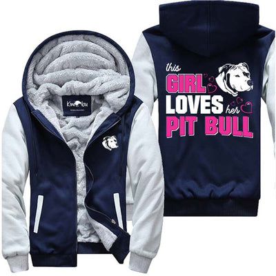 Loves Her Pitbull - Jacket
