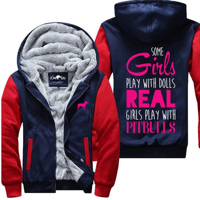 Real Girls Play With Pitbulls - Jacket