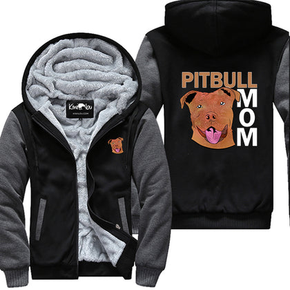 Smiling Pit Mom Jacket