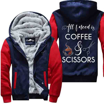 Coffee And Scissors - Jacket