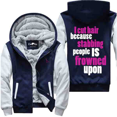 I Cut Hair Because - Jacket