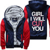 Girl I Will Cut You - Hairstylist Jacket