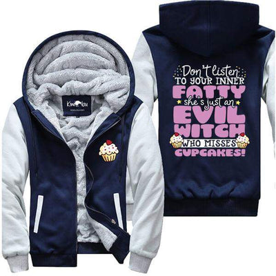 She's Just An Evil Witch Who Misses Cupcakes - Fitness Jacket