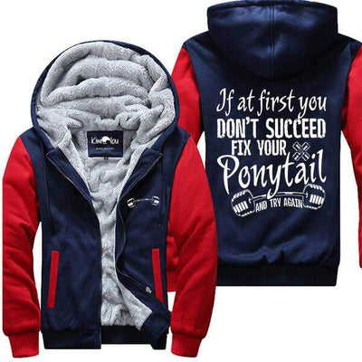 Fix Your Ponytail - Fitness Jacket