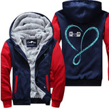 Love And Infinity Barbell - Fitness Jacket