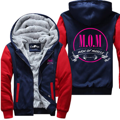 M.O.M Made Of Muscle - Fitness Jacket