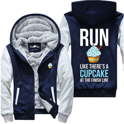 Run Like There's A Cupcake - Fitness Jacket