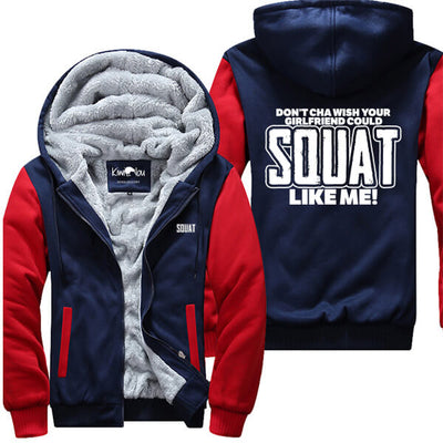 Squat Like Me - Fitness Jacket