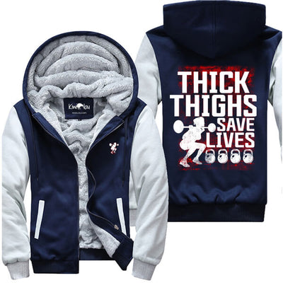 Thick Thighs Save Lives - Fitness Jacket - KiwiLou