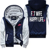 Fit Wife Happy Life - Fitness Jacket