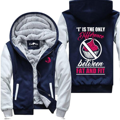 """I"" Is The Only Difference - Fitness Jacket ♥"