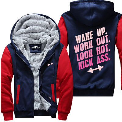 Wake Up Work Out - Fitness Jacket
